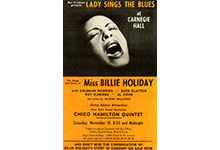 Billie Holiday at Carnegie Hall, 1960