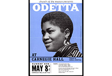 Odetta at Carnegie Hall, 1960